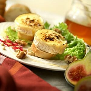 Baked Goats Cheese Recipe with Dulse
