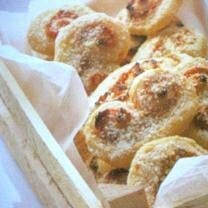 Goat Cheese Pastries with Sea Lettuce