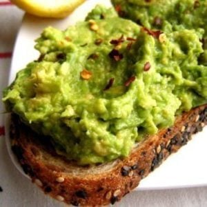 Avocado Spread on Grain Toast
