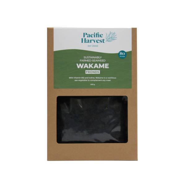Farmed wakame fronds 200g