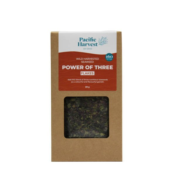 Power of three seaweed flake blend 80g