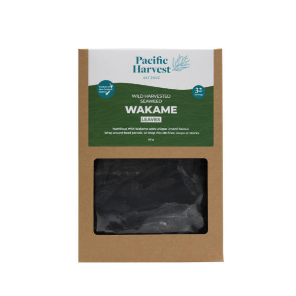 Wild wakame leaves 80g