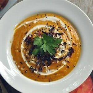 dulse & butternut soup